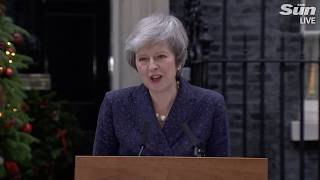 Theresa May faces no-confidence vote (12/12/18 full stream)