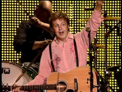 Paul McCartney - I'll Follow The Sun (live 2008)