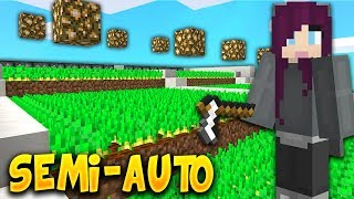 An EASY to build SEMI-AUTOMATIC FARM! | COSMIC SKY S3 #3 (Minecraft SKYBLOCK)