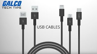 USB Cables Explained: Different Types of USB Connectors - A Galco TV Tech Tip