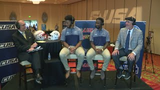 Gambar cover Bobby Wilder addresses ODU's expectations at C-USA media day