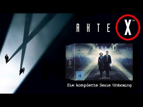 Akte X: Die komplette Serie Blu-ray Unboxing