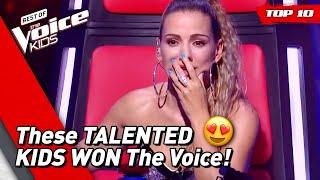 TOP 10 | BEST WINNERS of The Voice Kids (part 3)