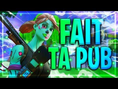 Live Fortnite en direct [fr] + énorme raid live fais ta pub !!!