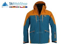 Picture, Naikoon, ski jacket, men, petrol blue