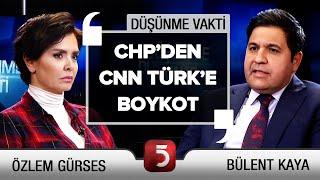 Fetö'nün Siyasî Ayağı Nerede? - Özlem Gürses - Murat Aksoy - Bülent Kaya - Suat Toktaş-Düşünme Vakti