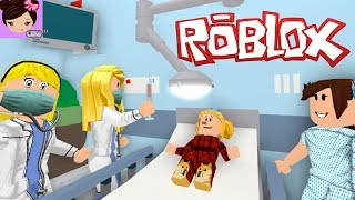Gambar cover My Baby Goldie Got Sick in Bloxburg! I Took her to The Roblox Hospital  - Roleplay  Titi Games