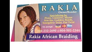 Rakias African Hair Braiding