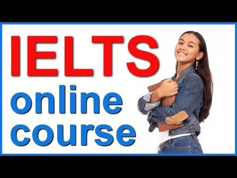 IELTS online course and preparation