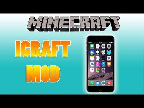 UN CELULAR EN MINECRAFT!!! - iCraft mod 1.7.10