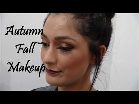 autumn fall makeup