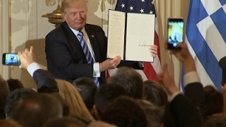 Trump Marks Greek Independence Day