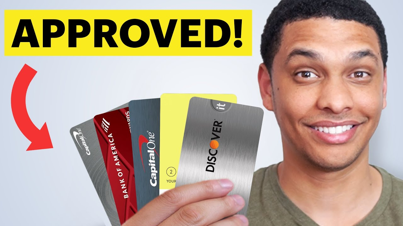 5 Credit Cards That Will INSTANTLY Authorize You With BAD or NO Credit thumbnail