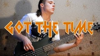 Anthrax Got the Time bass cover | track of Frank Bello (free bass tab on AndriyVasylenko.com)