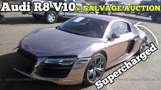 Should I BUY Tanner Braungardt's WRECKED Audi R8 V10???