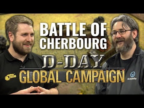 Let's Play: Flames of War D-Day Campaign - Battle of Cherbourg