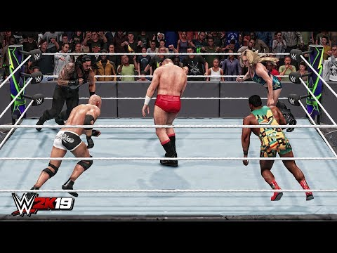 WWE 2K19 Top 10 Epic Finishers Combinations!
