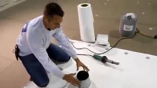 Thermoplastic Field Wrap Cone Penetration Installation Video