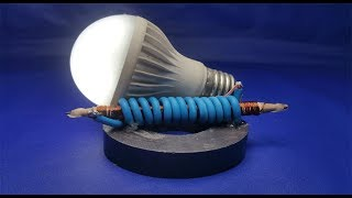 free energy generator Pencil with magnets || Projects experiment 2018