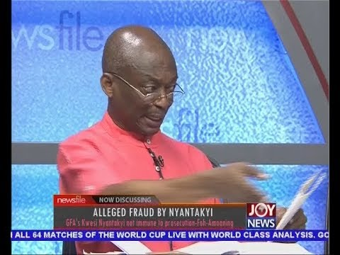 Alleged Fraud By Nyantakyi - Newsfile on JoyNews (26-5-18)