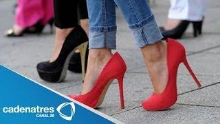 ¿Cómo caminar con tacones altos? / Tips para saber caminar en tacones correctamente