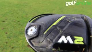 Mark Crossfields Reviews New TAYLORMADE M2 DRIVER