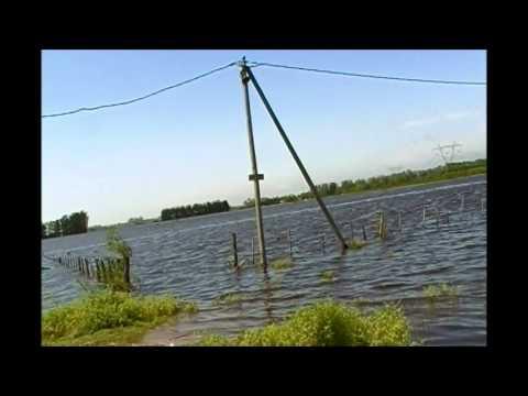 Inundación Campo General Rodriguez  Arroyo Durazno, hogar de chicos de la calle