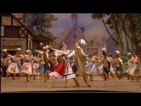 El Ballet Bolshoi Interpreta El Acto I Mazurka de Coppélia