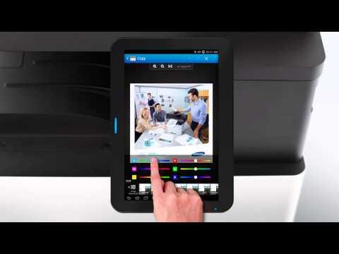 Samsung Smart UX MFP Printer  Preview/Crop Image