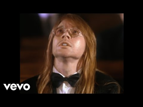 Vídeo November Rain de Guns and Roses