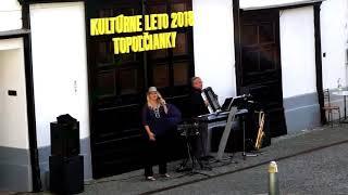 M-Trio z Topoľčian na Kultúrnom lete v Topoľčiankach