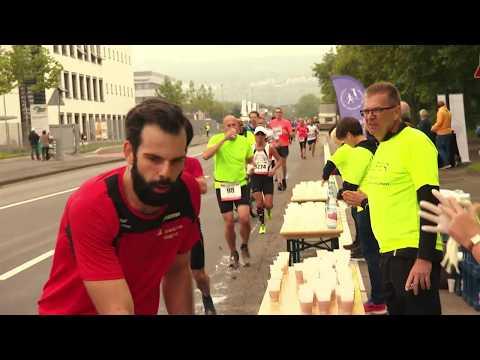 Bilder von der Premiere des Koblenzer Sparkassen Marathon (Start und Zeil wg. Baustellen-Verzögerung nicht im Stadion)