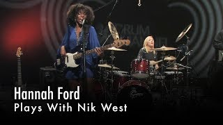 Hannah Ford Plays With Nik West
