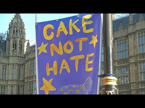 Πορείες υπέρ και κατά του Brexit στο Λονδίνο