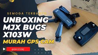 Mjx X103W Folding Drone GPS murah Kamera Sudah 2K