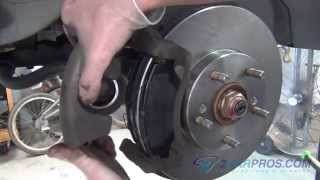 Brake Pad/Rotor Replacement Honda Element