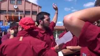 preview picture of video '20140713 - 02 - Cantant una Pinya - Festa Major de Polinyà - Capgirats - Castellers de Castellar'