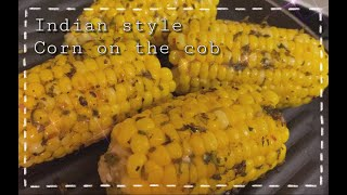 Indian Style Corn On The Cob [engsub] | Crave n Sizzle
