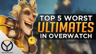 Top 5 WORST Ultimates In Overwatch