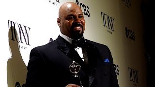 Gold Derby: Tony Awards press room never had a friend like James Monroe Iglehart