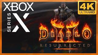[4K] Diablo II : Resurrected / Xbox Series X Gameplay
