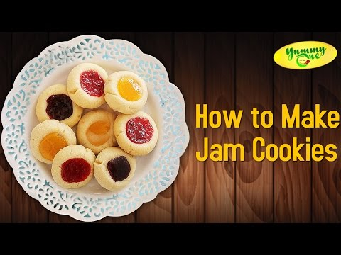 How to Make Jam Cookies | Yummy One