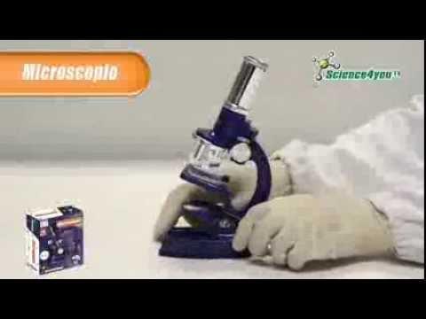 Microscopio para niños