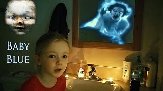 BABY BLUE CHALLENGE GONE WRONG - Real Scary Demon Attacks