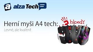 Herní myši A4Tech: Levné, ale kvalitní! - AlzaTech #413