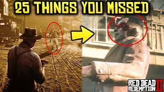 Red Dead Redemption 2: OFFICIAL Gameplay Trailer Part 2 - 25 Things You May Have Missed