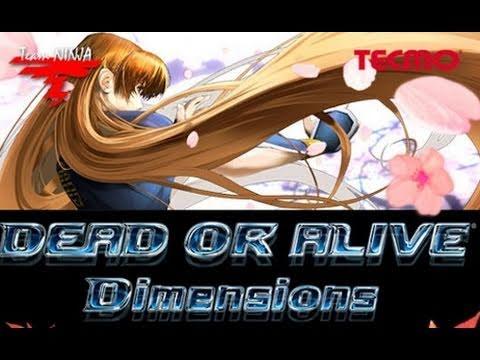 Видео № 1 из игры Dead or Alive: Dimensions (Б/У) [3DS]