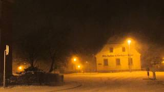 preview picture of video 'Schneetreiben am 02.03.2015 in Annaberg-Buchholz'