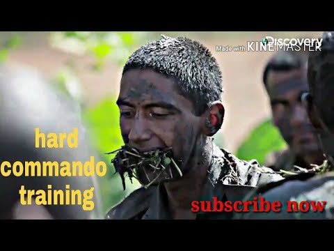 Indian army commando training and  ghorakha training
