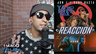 [Reaccion] Jon Z X Baby Rasta   Ya No Eres Mia (Video Oficial)